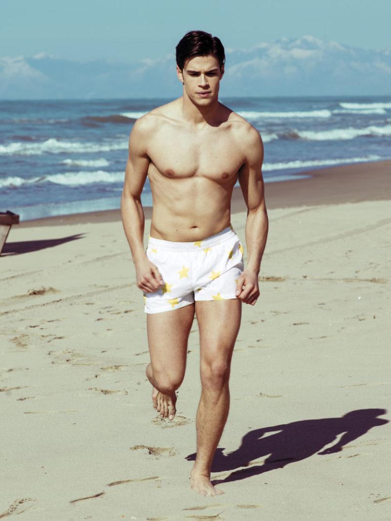 Boxer Mare Stars Caladesi Beachwear