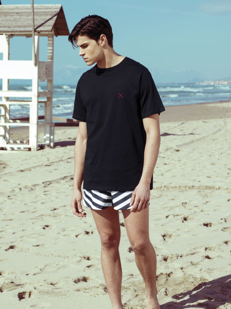 Tshirt Black Caladesi Beachwear